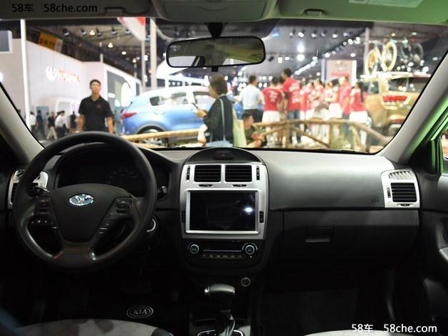 东风悦达起亚华骐300E上市 售19.88万元